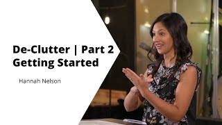 Declutter 2   Getting Started   Hannah Nelson