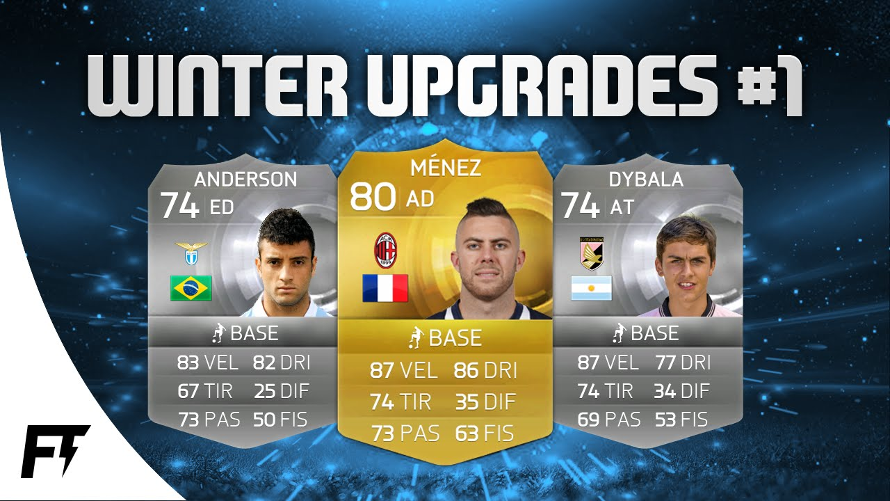 FIFA 15| WINTER UPGRADES ft. DYBALA, MENEZ & FELIPE ... Felipe Fifa 18