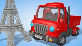 Мультфильмы для детей: Львенок лева строит Эйфелеву башню. Лева строитель.   Лева и друзья (2019)