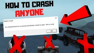 How to CRASH ANYONE in Electric State DarkRP (roblox) *PATCHED*