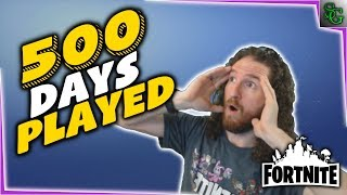 Fortnite - 500 Days Played!!! VLOG (Story Time & Mini Rants)