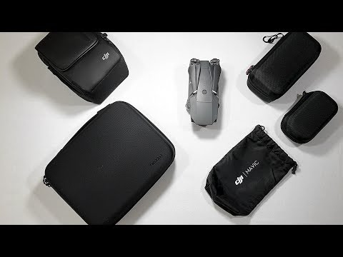 Reviewing four different DJI Mavic Pro cases and storage options