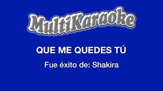 vuclip Multi Karaoke - Que Me Quedes Tu
