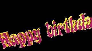 Footage Happy birthday!С Днем рождения на английском языке