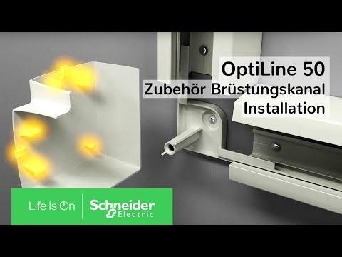 OptiLine 50 - Zubehör Brüstungskanal | Schneider Electric Schweiz