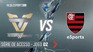 CBLoL 2018: Team One x Flamengo (Jogo 2) | Série de Acesso - 1ª Etapa