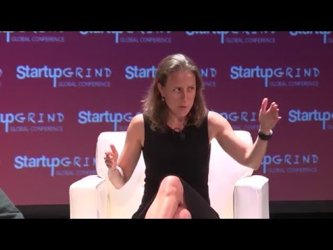 Anne Wojcicki (23andMe) & Steve Clemons (The Atlantic) at Startup