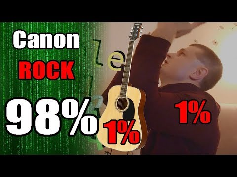 1% Music 1% Edit 98% Programming Skills - Canon Rock (full Edition)