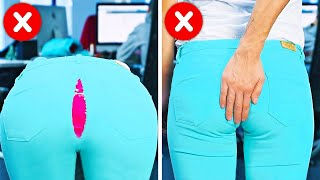 25 AWESOME CLOTHES HACKS TO AVOID AWKWARD MOMENTS