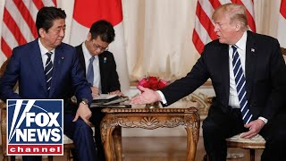 Trump, Abe hold press conference before Singapore summit