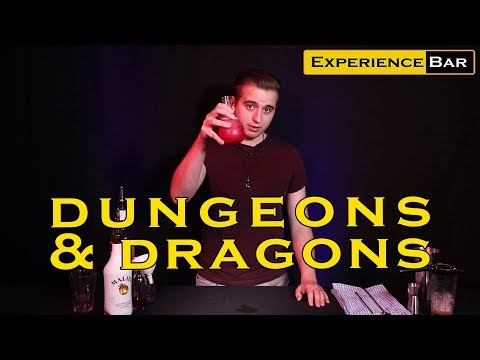 Potion Of Healing, A Dungeons & Dragons Cocktail
