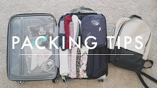 Travel Packing TipsHow to Pack a Carry-On + Packing Checklist Download