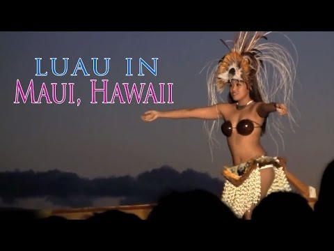 Royal Lahaina Resort Luau - Maui, Hawaii
