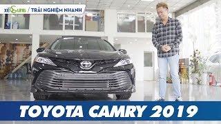 Toyota Camry 2019 trải nghiệm nhanh: chất sang, sự lột xác và giá 2,5 tỉ đồng
