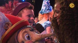 Nana neemt een kijkje bij de première van de sprookjesmusical Pinokkio - Efteling