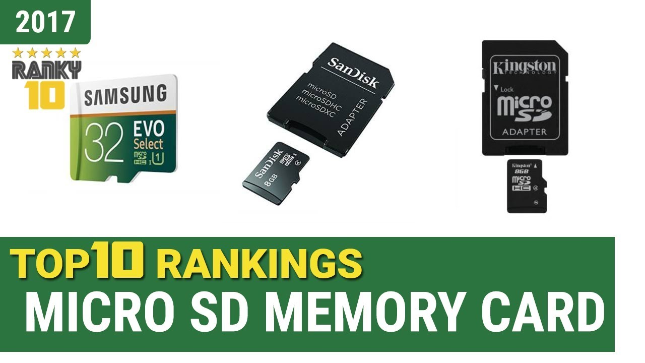 best micro sd memory card top 10 rankings review 2017 buying guide