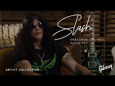 Gibson Custom Slash Anaconda Les Paul – Plain Top