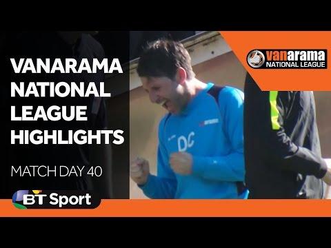 Vanarama National League Highlights Show - Matchday 40