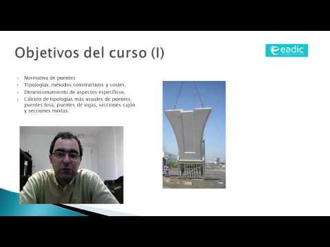 """Presentación del curso de """"Cálculo de estructuras de obra civil"""""""