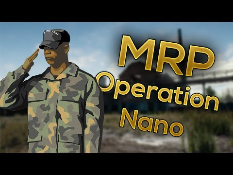 Garrys Mod | Military Roleplay Event | Operation Nano [3xN]