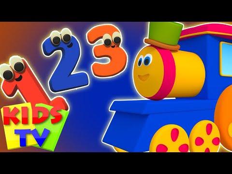 ボブ・ザ・トレイン|数電車|数字を学びます| Kids Tv Japan | キッズソング