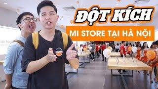 """Cùng Hải Triều """"đột kích"""" Mi Store lớn nhất Hà Nội: Toàn đồ độc và lạ của Xiaomi!"""