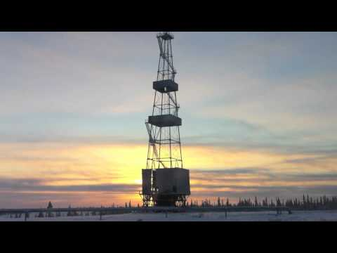 the Russian Extreme North, Kharyaga oilfield, Phase 3.mov