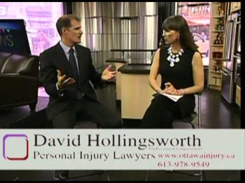 Ottawa Personal Injury Lawyer David Hollingsworth Discusses Ontario Auto Insurance Accident Benefits