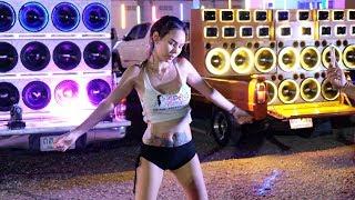 Thai car Audio Show with sexy Dancer