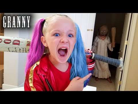Hello Granny in Real Life! Hide and Seek Game With Granny in Our House!!