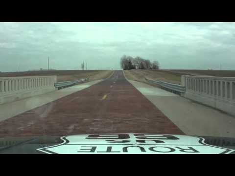 Take a drive down some historic sections of Route 66 in Illinois