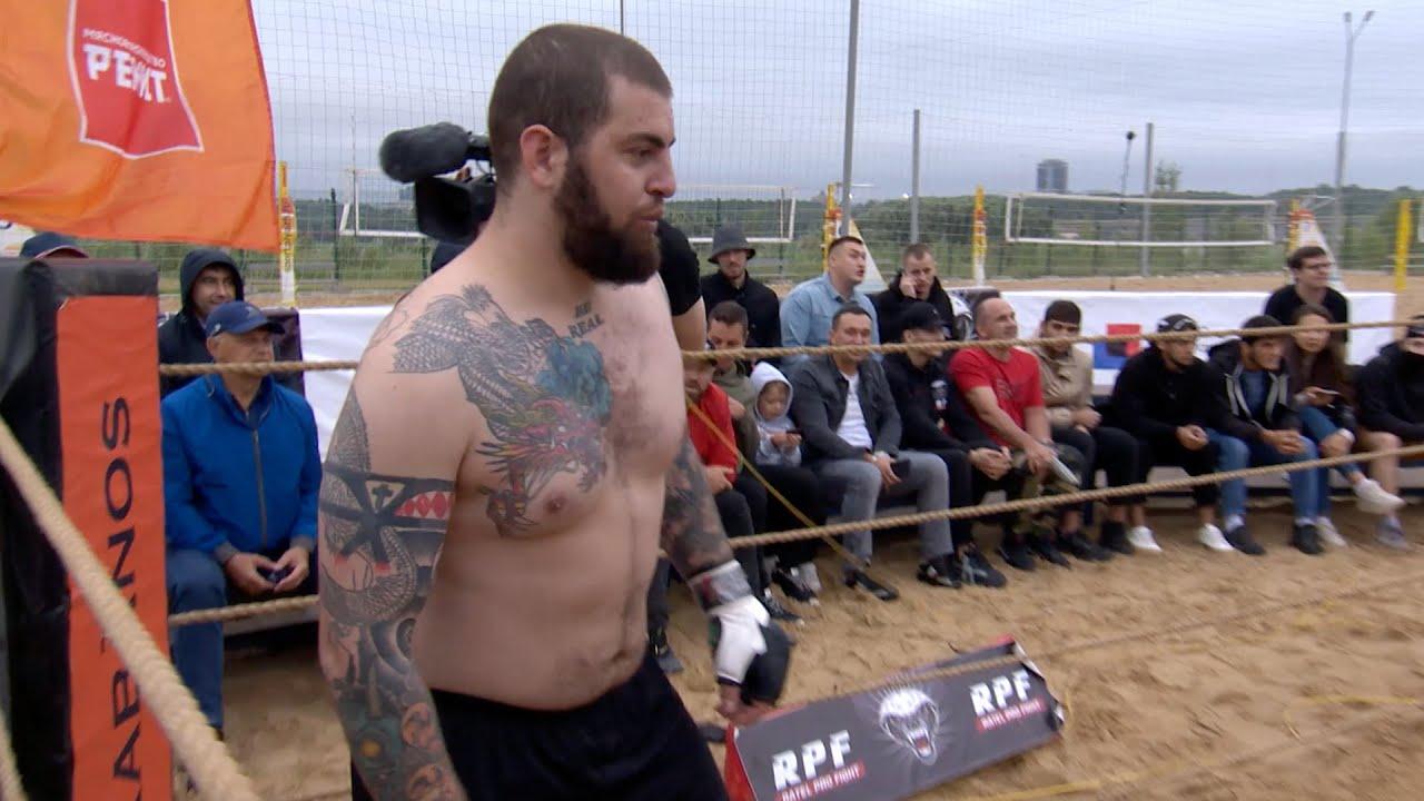 VIKING 130kg vs SPARTACUS !!! MMA Fight !!!