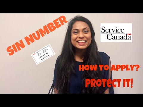 What Is SIN Number And How To Apply || Living In Canada