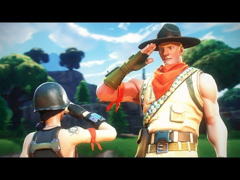 Fortnite Random Duos...but were in the ARMY!?