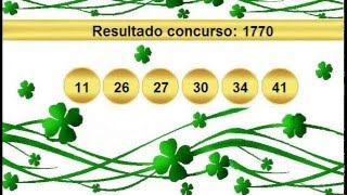 sorteio resultado mega sena 1770 Palpite 1771