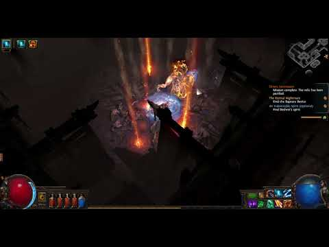 Oriath Part 27 The mines Elreon Crystal Veins Haunted Minesh