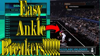 NBA 2k16 Best Crossover In The Game (Easy Ankle Breakers)!!!!!!