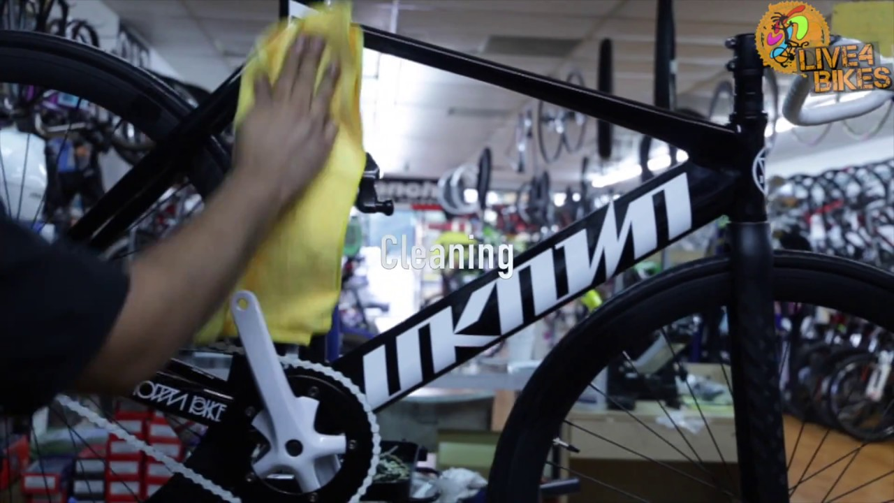 what 39 s included in our bike tune up you ask live4bikes bike shop how we tune up a bike youtube. Black Bedroom Furniture Sets. Home Design Ideas