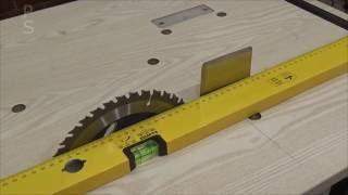 Splitter ( Riving Knife ). 3 in 1 Workbench. DIY. How to do.