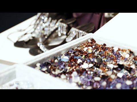 Swarovski Sparkle Up: Patrick McDowell Swap Shop at London Fashion Week