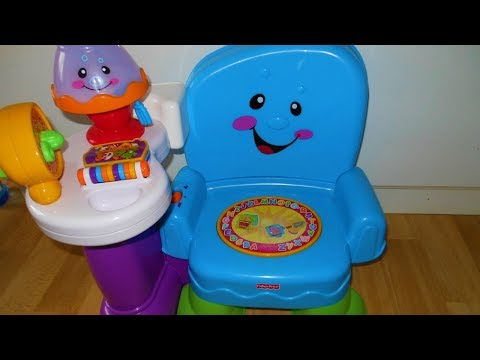 Fisher price learning chair blue
