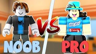 ROBLOX JAILBREAK NOOB vs PRO!