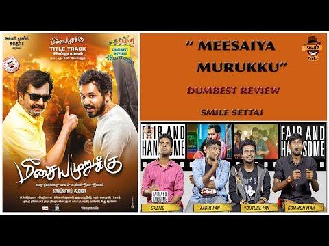 Meesaiya Murukku Movie Review   Dumbest Review   Hiphop Thamizha Aadhi   Smile Settai