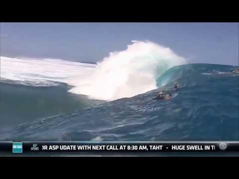Billabong Pro Tahiti Day 1 Wipeouts