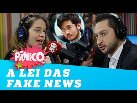 Isa Penna e Marco Vinholi discutem a lei das fake news de Kim Kataguiri