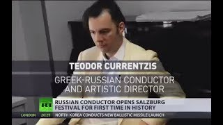 'Music is language of angels' Russian conductor opens Salzburg Festival for first time in history