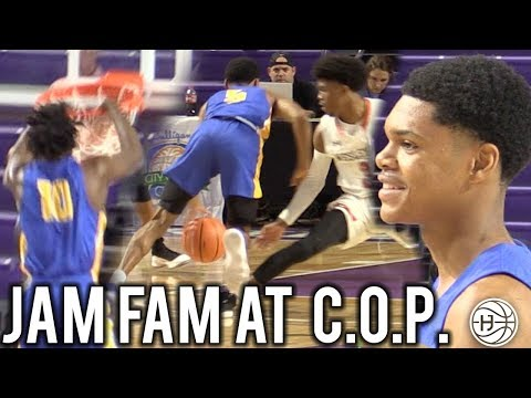 Ronaldo Segu and Nassir Little BRING JAMFAM TO CITY OF PALMS! IN FRONT OF UNC COACHES!!!