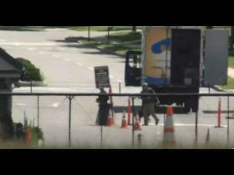 Hanscom Air Force Base Evacuated After Explosives Detected on Suspicious Moving Truck