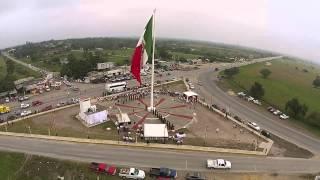 Video y foto aérea Día de la Bandera 2014 Ayto. de Pánuco, Veracruz