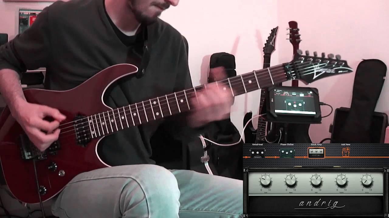 android guitar amp guitar effects app demo deplike youtube. Black Bedroom Furniture Sets. Home Design Ideas